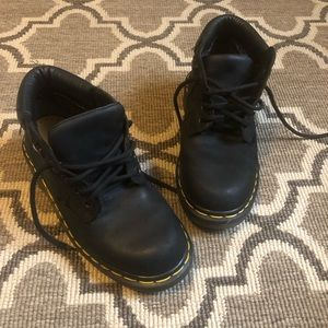 The Original Doc Martens Lace Up Black Boot